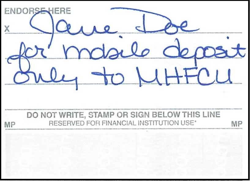 Mobile Deposit Maine Highlands Federal Credit Union