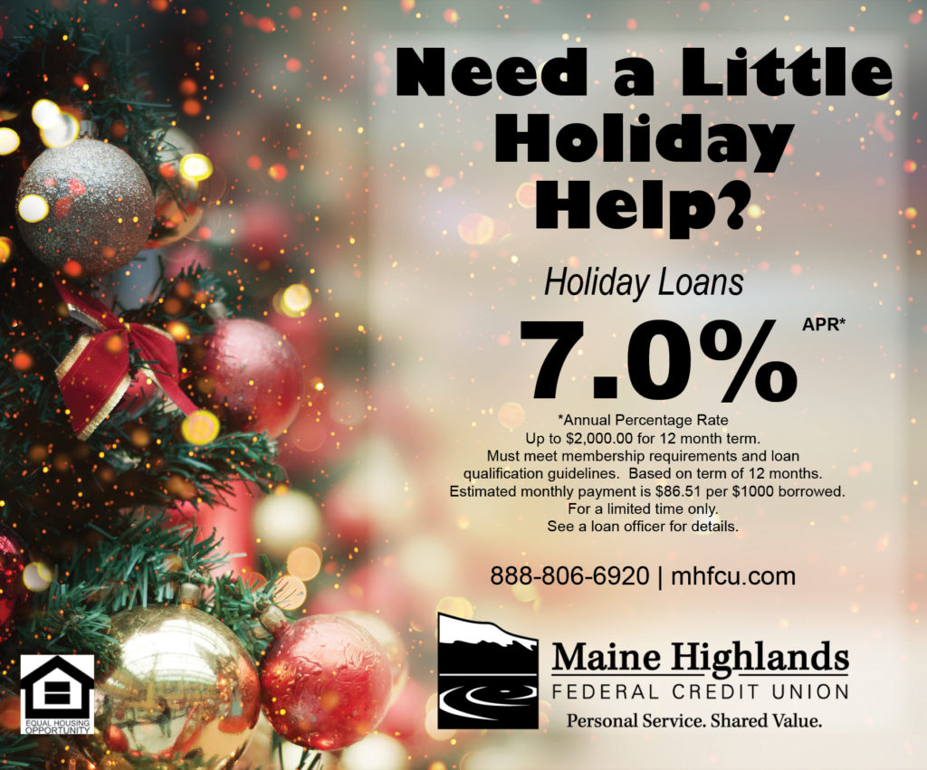 ad for Holiday Loan