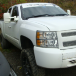 2008 Chevy Silverado front passengers side view