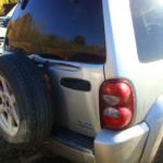 2006 Jeep Liberty rear view