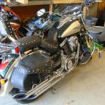 2009 Kawasaki Vulcan rear side view