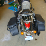 2009 Kawasaki Vulcan rear view
