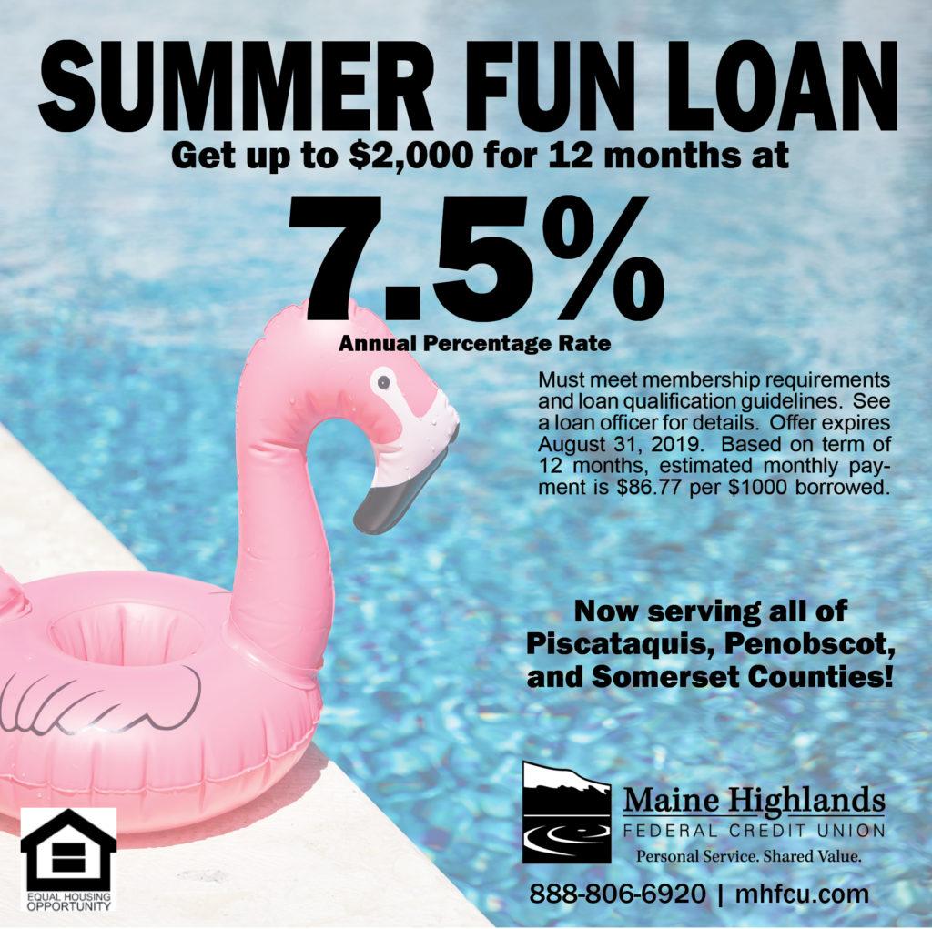 Summer Fun Loan ad