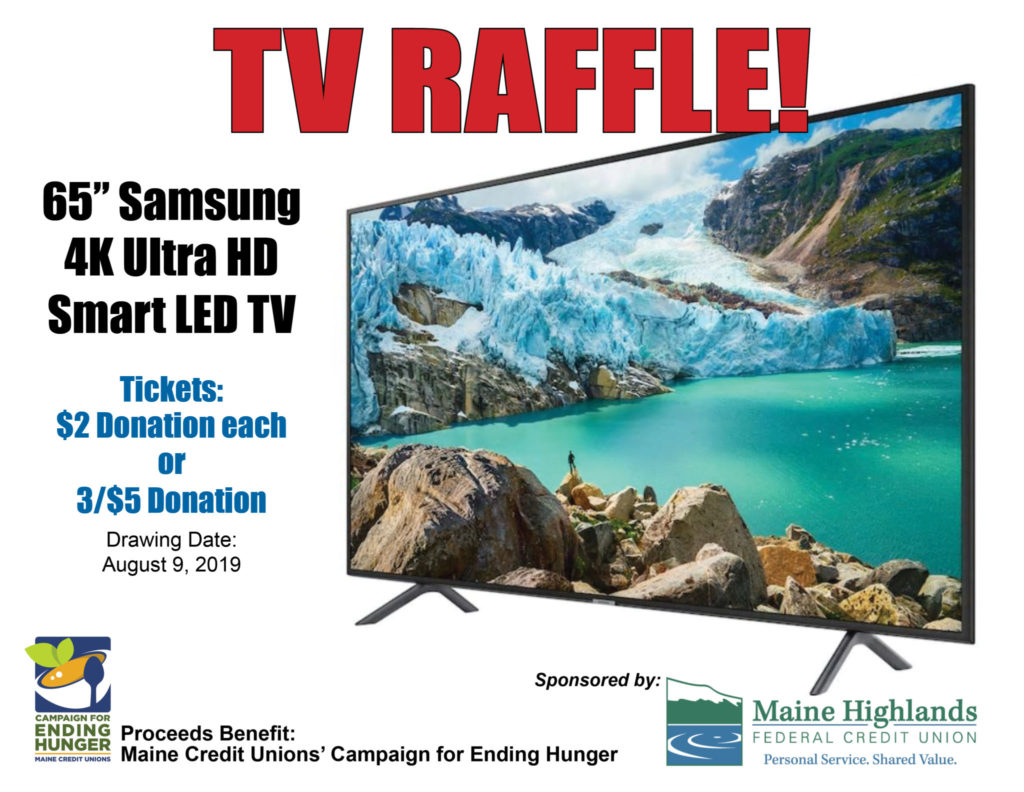 TV Raffle - Maine Highlands Federal Credit Union