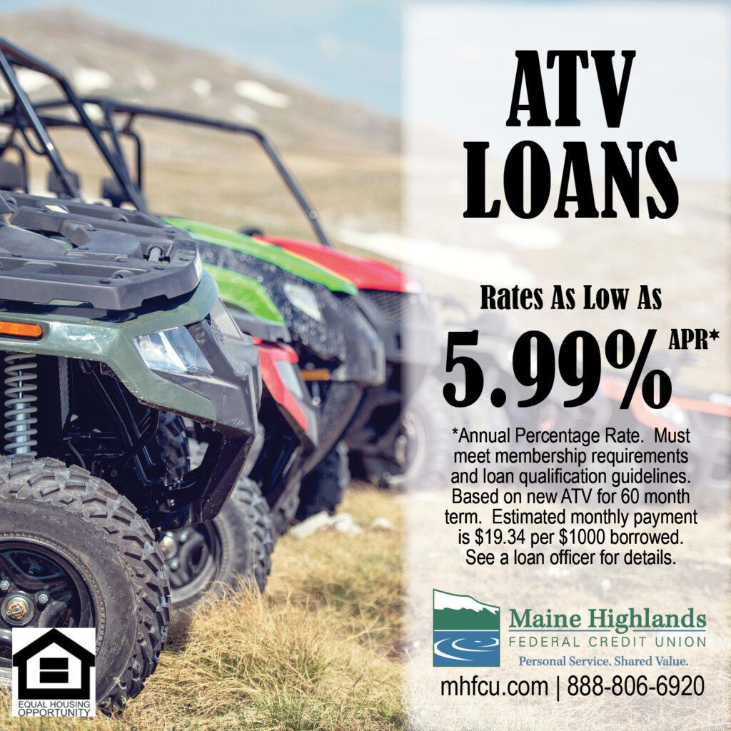 ATV loan ad