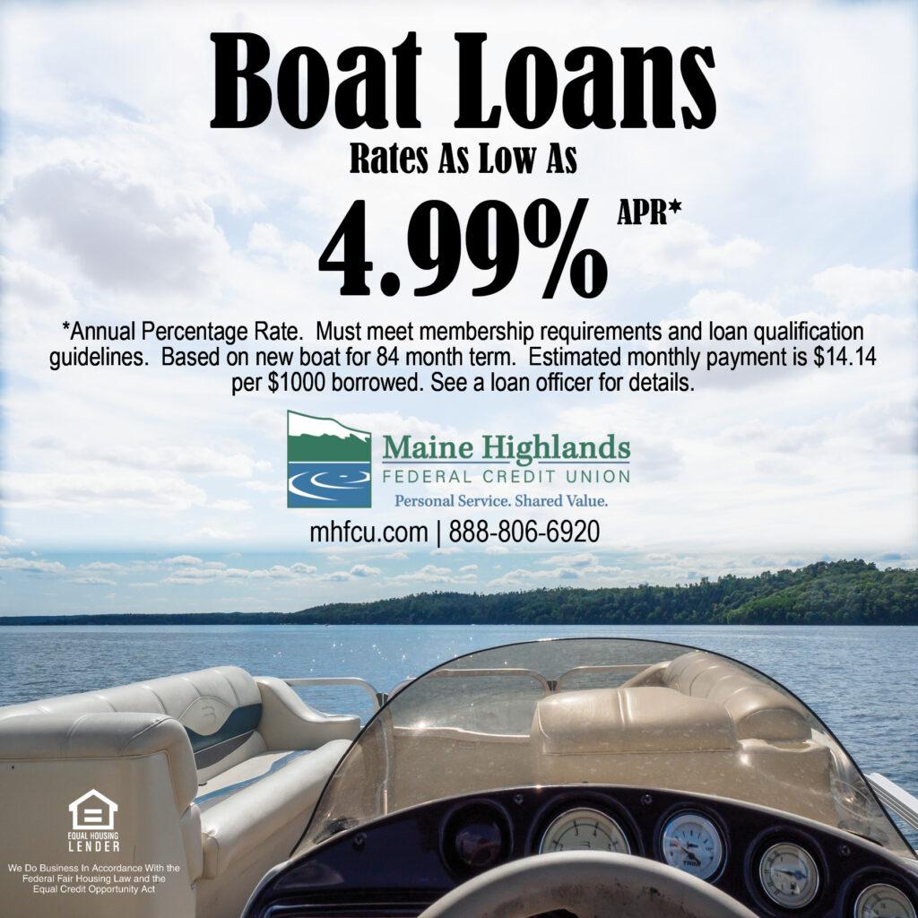 boat loan ad