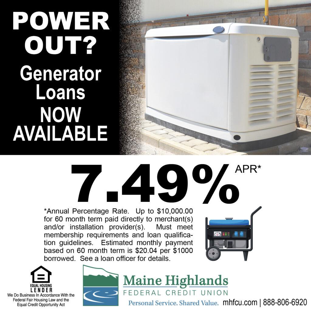 generator loan ad